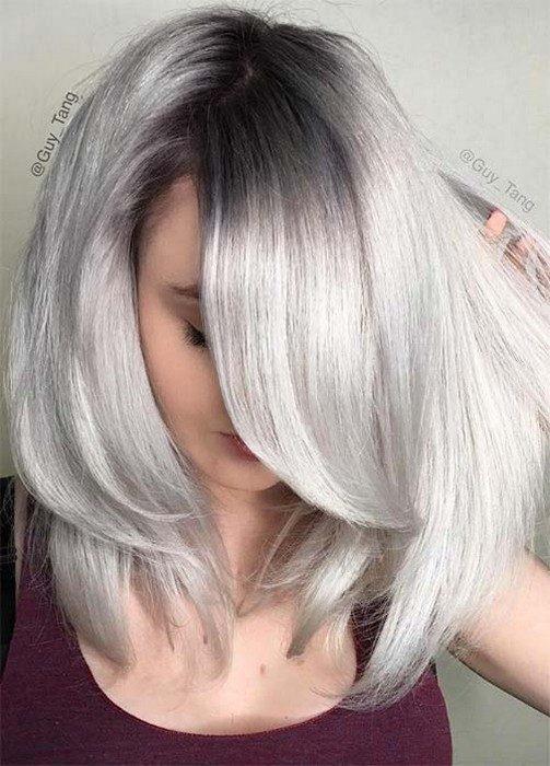 Мелирование как закрасить блондинку