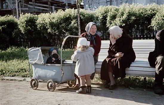 Малоизвестные цветные фото повседневной жизни в СССР 1950 ...