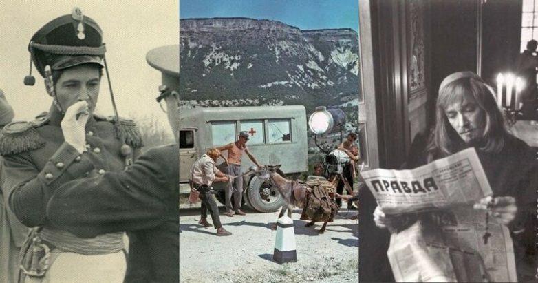 За кулисные фото советских киношедевров