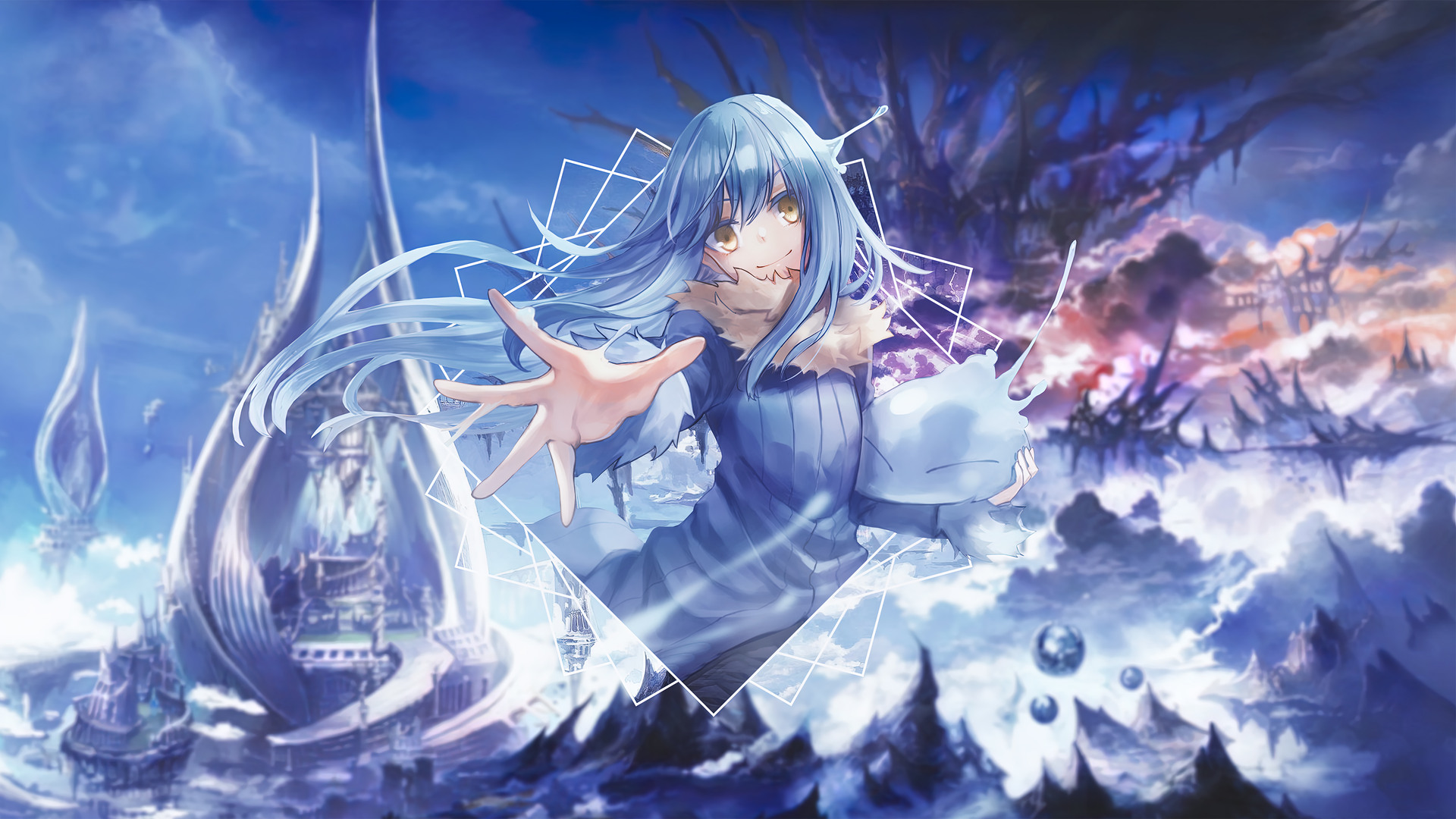 Download rimuru tempest 4k wallpapers apk 4.0.0 for android. Rimuru Tempest That Time I Got Reincarnated As A Slime Wallpaper 4k 3 3312