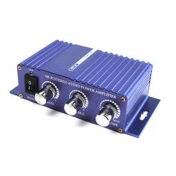 400W 12V HI-FI Stereo audio power Amplifier mp3 deluxe auto sound enlarger
