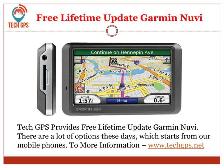 Garmin Lifetime Map Update Software