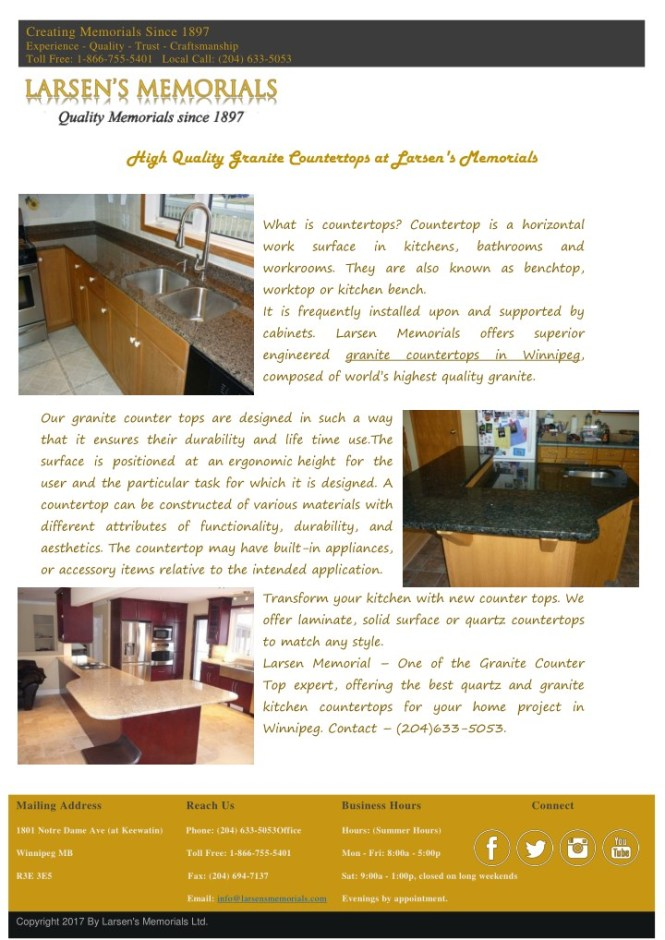 Ppt High Quality Granite Countertops