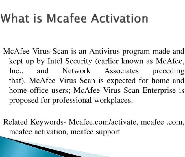 Mcafee Virus Scan Is An Antivirus Program Made And