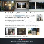 Ppt Get Quality Security Sliding Screen Doors You Re Secure Powerpoint Presentation Id 7949549