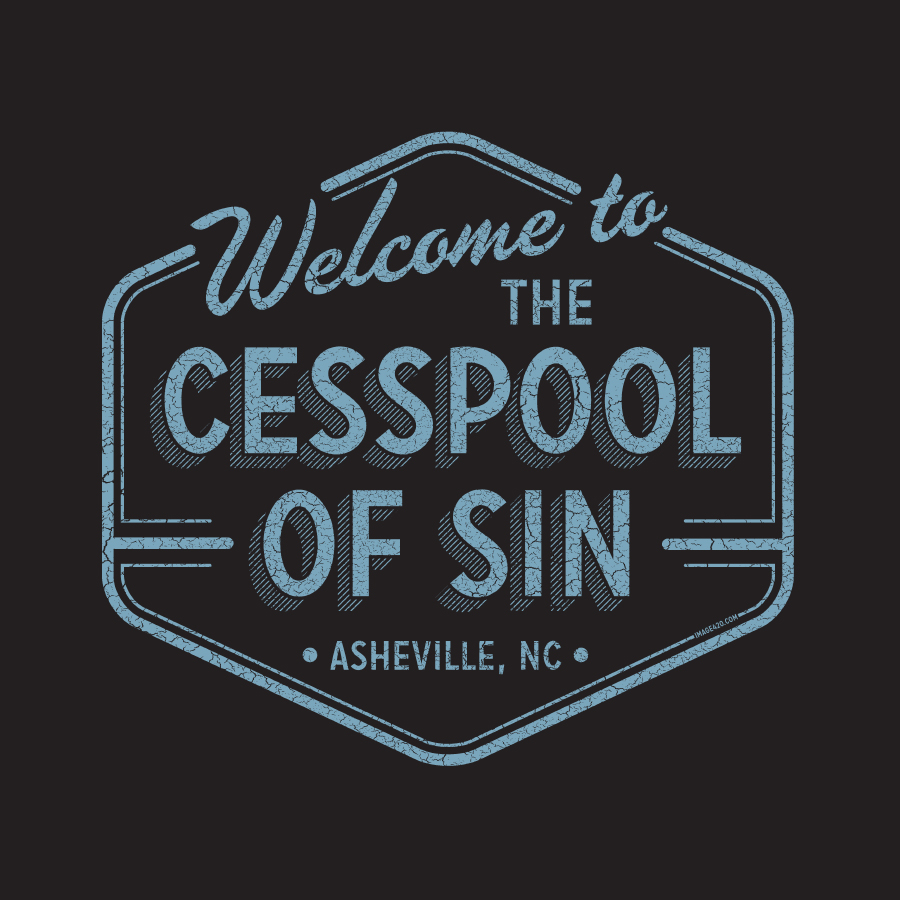 """""""Cesspool of Sin"""" by Israel Hill. Available in our online store."""