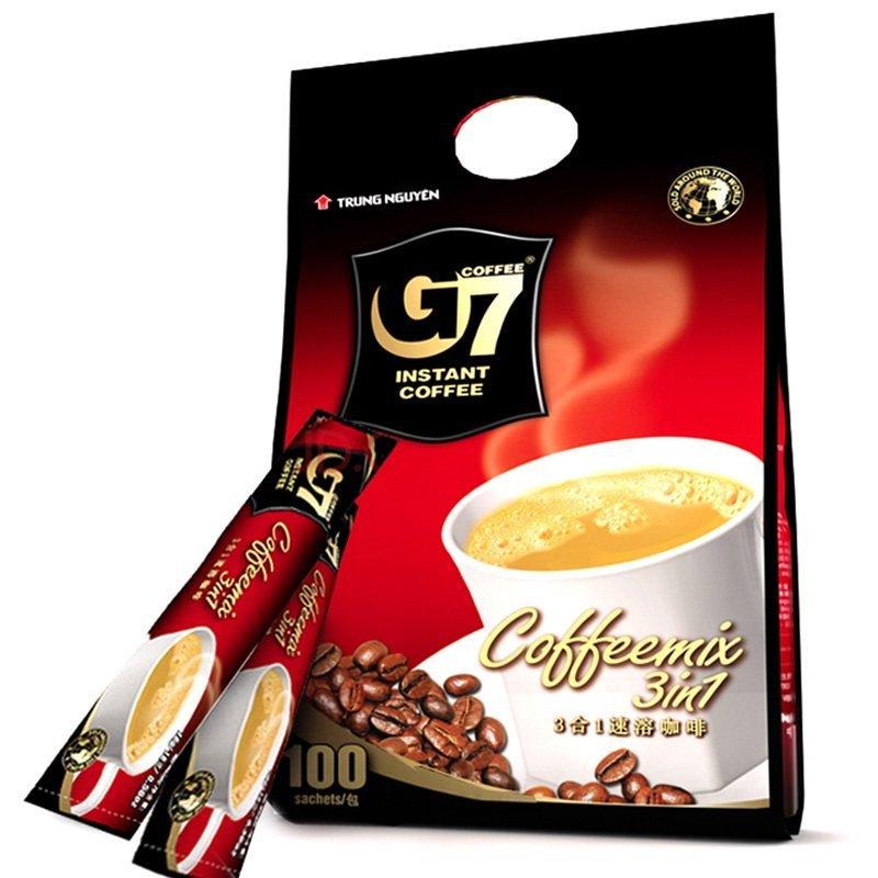越南進口 中原G7三合一速溶咖啡1600g【價格 圖片 品牌 報價】-蘇寧易購