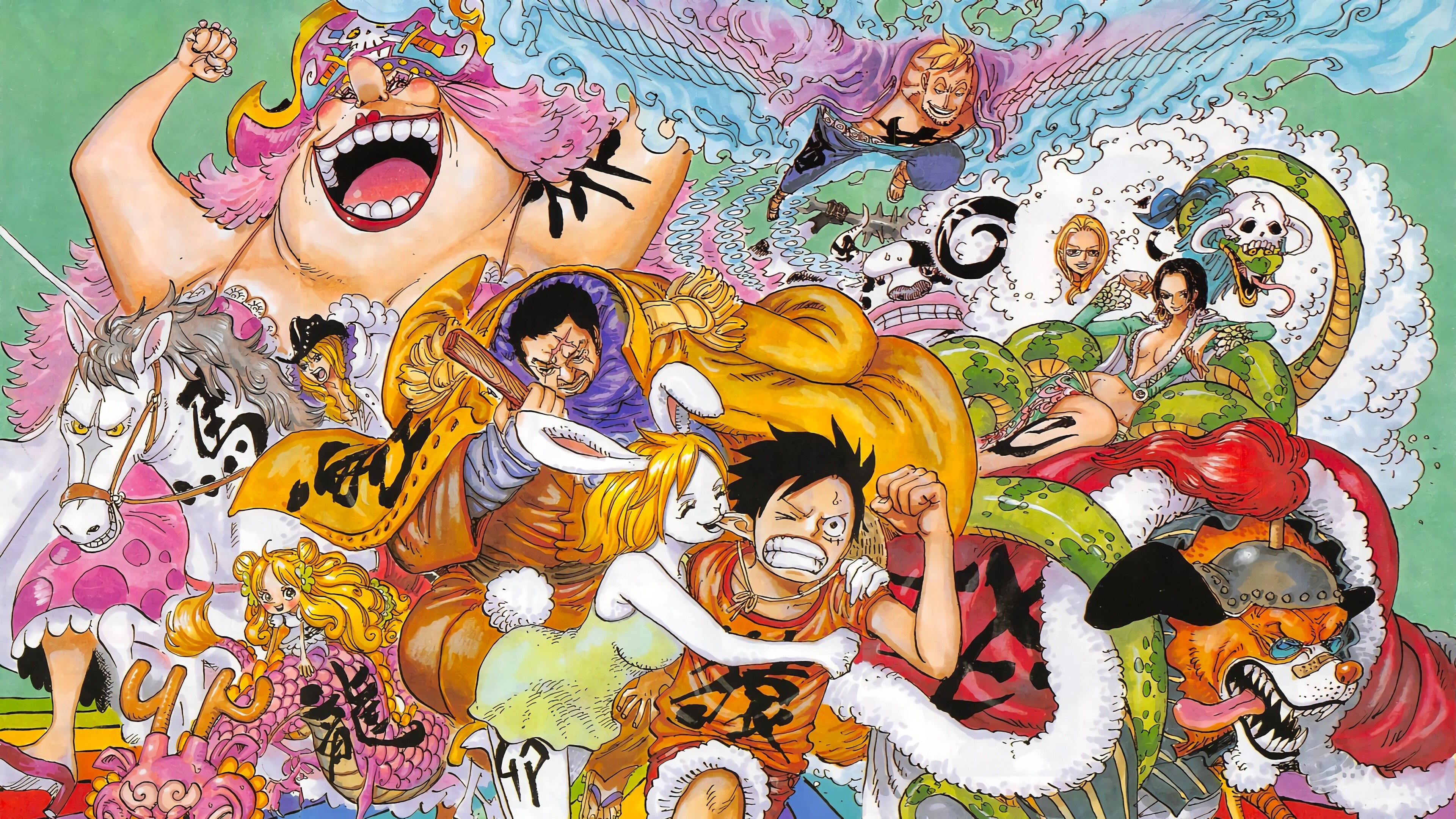 Whether it's windows, mac, ios or android, you will be able to download the images using download button. One Piece Characters 4k Wallpaper 6 124