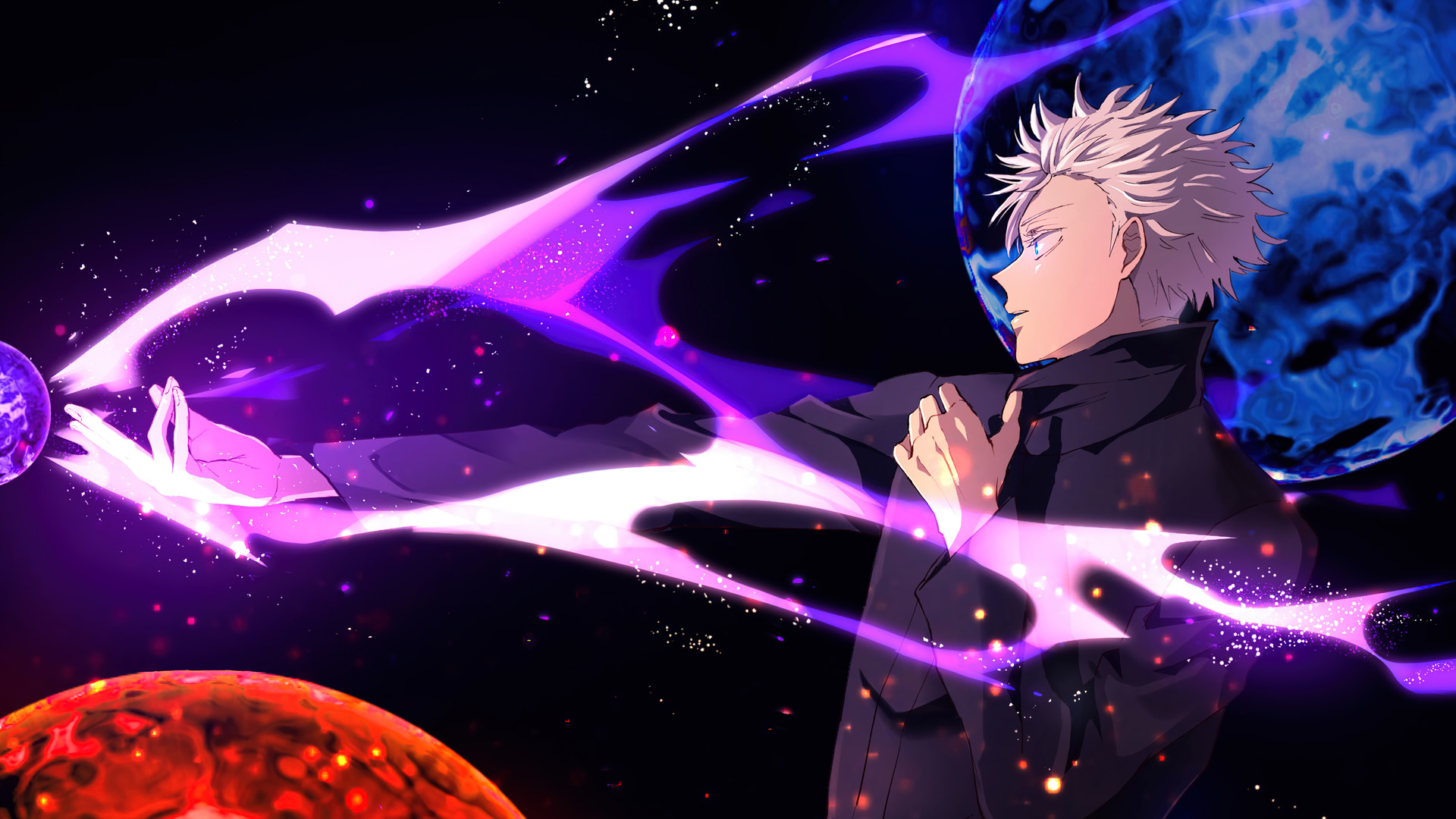 Live wallpaper multiple categories wallpaper for your phone like nature, anime, kpop idol, abstract,. Jujutsu Kaisen Wallpaper Gojo - Jujutsu Kaisen Wallpaper ...