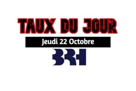 Haiti/ Taux par affichés les Banques ce jeudi 22 octobre 2020 -