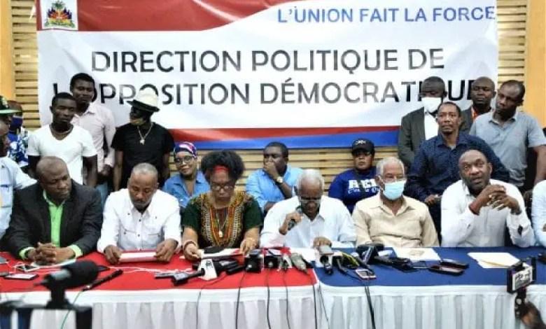 Haiti: mésententes dans l'opposition, dévoilées par ses propres membres - Jovenel Moïse, Nenel Cassy, opposition