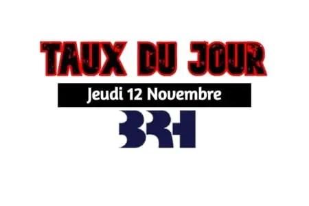 Haïti/ Taux affichés par les banques pour ce 12 novembre 2020 -
