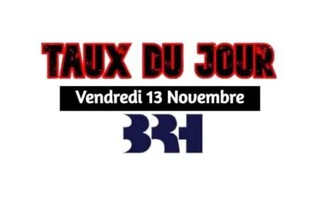 Haïti/ Taux affichés par les banques pour ce 13 novembre 2020 -