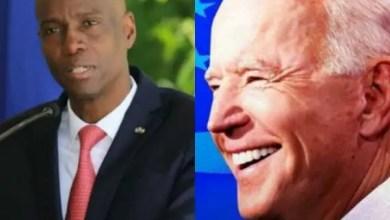 Sit-in devant l'Ambassade américaine à Port-au-Prince - Joe Biden