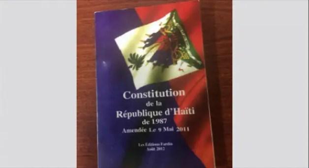 Le nouveau texte de la nouvelle Constitution sera mis en débat d'ici le 13 janvier 2021, le sénat de la republique sera supprimé. - Constitution