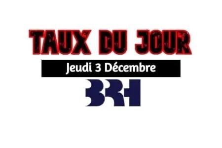 Haiti/ Taux affichés par les Banques pour ce 3 Decembre 2020 -