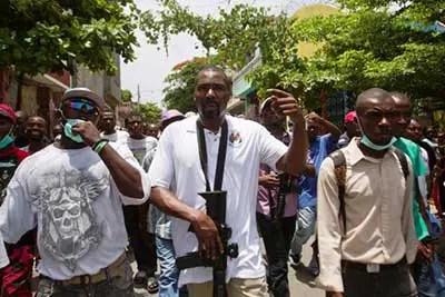 Une marche le 16 décembre 2020 pour exiger la libération des prisonniers politiques - Arnel Bélizaire, Haïti, marche