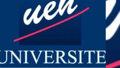 L'UEH lance les inscriptions aux concours d'admission 2020-2021 - Ueh