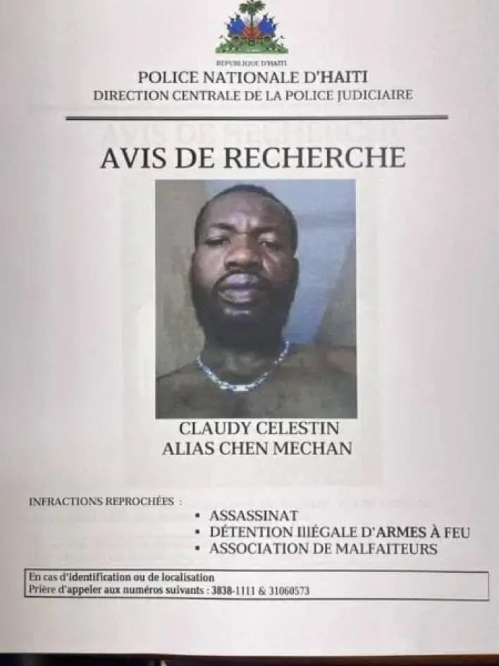 Des citoyens de Shadda protègent le présumé bandit «Chen Mechan», recherché par la DCPJ -
