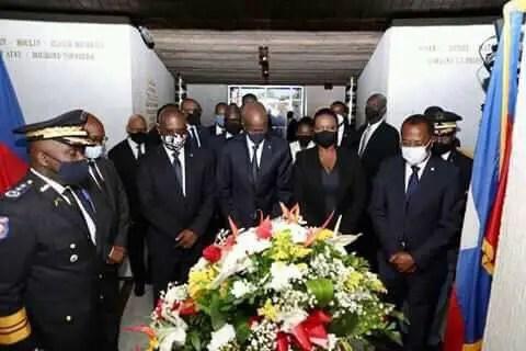 Haiti: Commémoration du 217eannéede l'indépendanceauMUPANAH. - joesph jouthe, Jovenel Moïse
