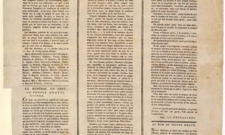 37 SIGNATAIRES DE L'ACTE DE L'INDÉPENDANCE D'HAYTI - Hayti