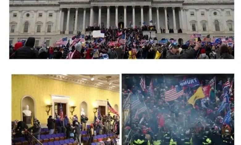 Des individus pro-Trump ont envahi la colline du Capitole Washington D.C -
