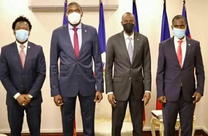 Le président Jovenel Moïse a reçu les membres du bureau du Sénat - Jovenel Moïse, Senat