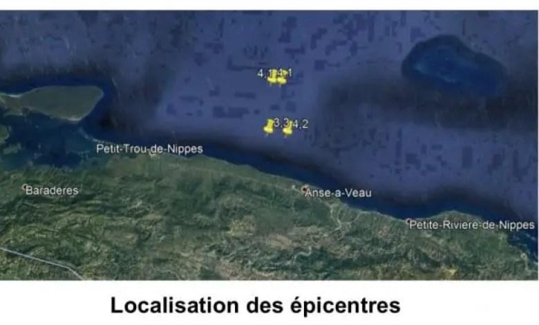 Au moins 4 séismes enregistrés dans les Nippes, mercredi 24 février -