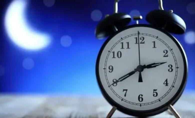 L'heure nationale sera avancée de 60 minutes le 7 mars prochain - Heure
