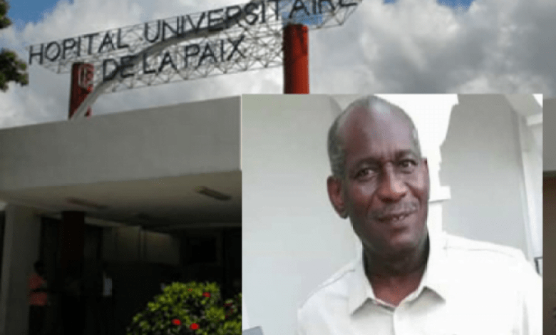 Arrêt de travail à l'hôpital universitaire de la paix en signe de protestation contre l'assassinat de Dr Ernst Paddy - Ernst Paddy