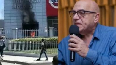 Pillage et incendie à Universal Motors : Dr Réginald Boulos accuse et rassure - Reginald Boulos