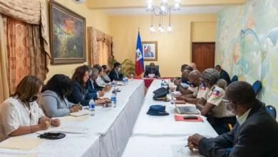Claude Joseph a rencontré le secteur privé lors d'un CSPN élargi - Claude Joseph, CSPN