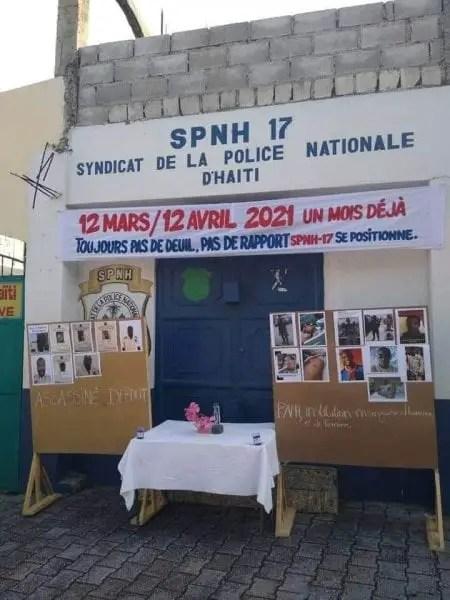 Un mois après, le SPNH-17 exige encore les cadavres de leurs frères d'armes assassinés -