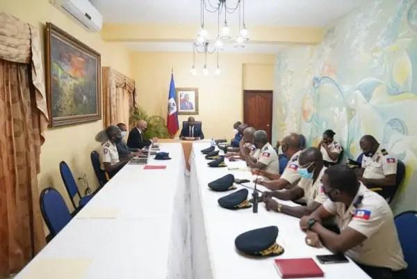 Sécurité: le Premier ministre a.i Claude Joseph a présidé son premier CSPN - Claude Joseph, CSPN
