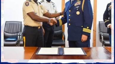 Protocole d'accord entre les garde-côtes américains et la PNH - PNH