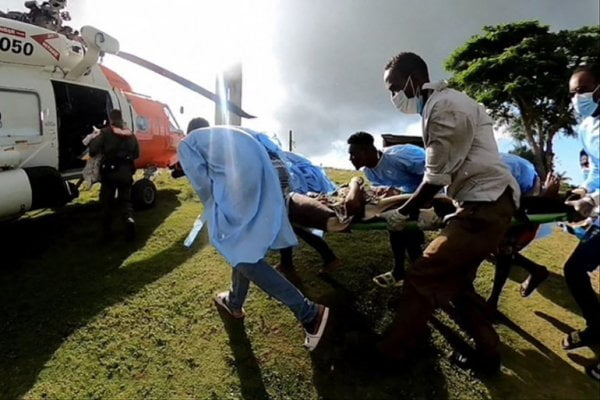Séisme en Haïti : Plusieurs victimes sont transportées vers Port-au-Prince -