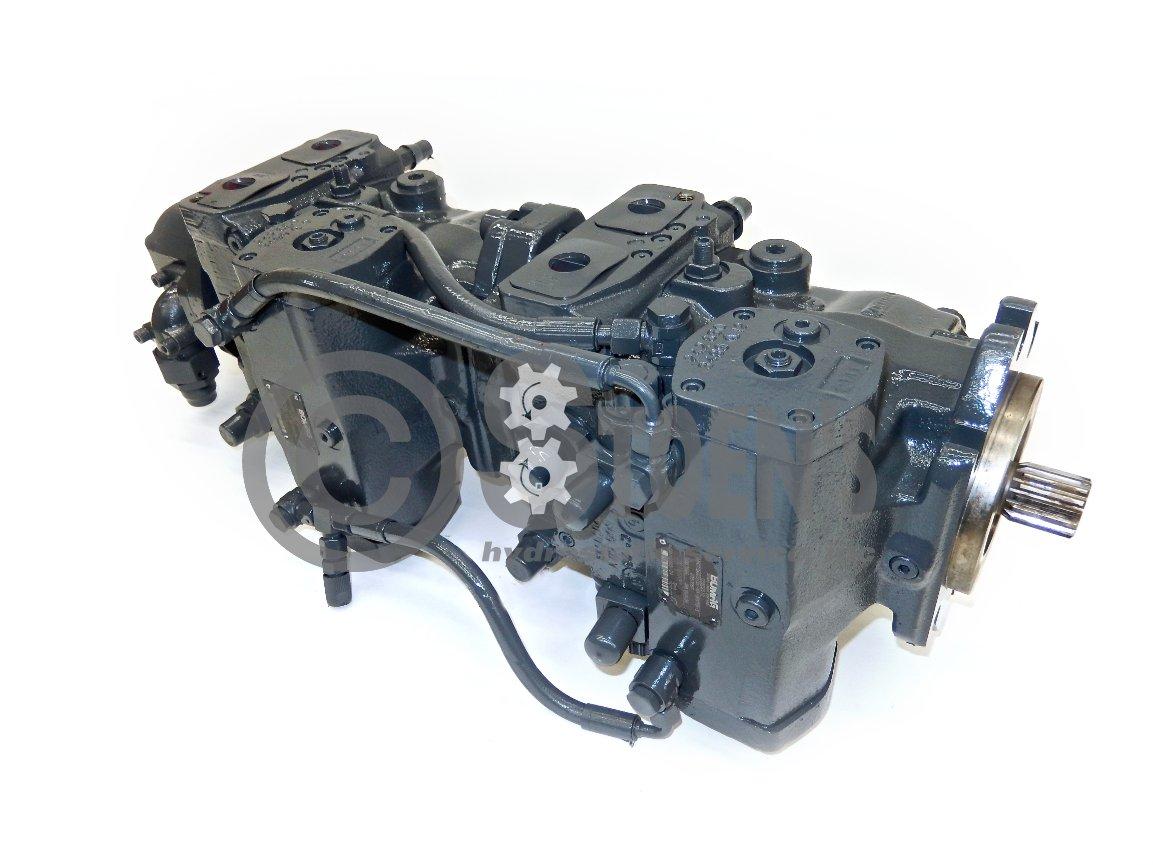 Rexroth Tandem Pump Assembly