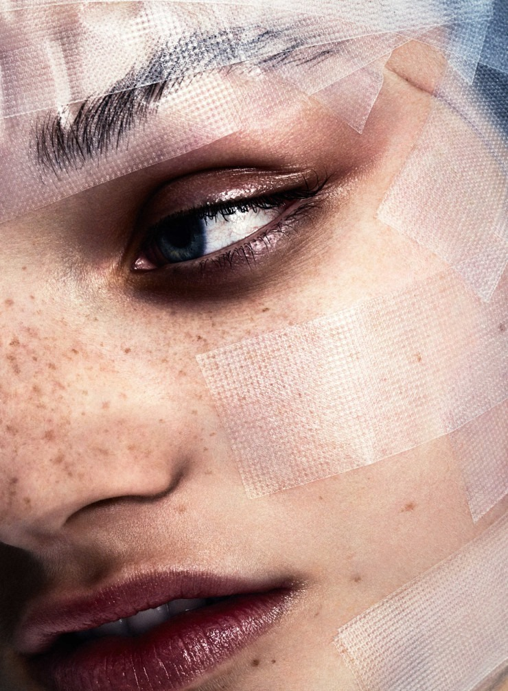 BEAUTY PAPERS Olivia Jansing by Marcus Ohlsson. Michelle Cameron, Spring 2016, www.imageamplified.com, Image Amplified (5)