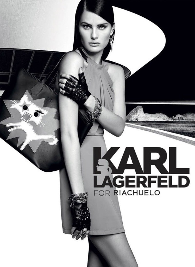 CAMPAIGN Isabeli Fontana for Karl Lagerfeld x Riachuelo Fall 2016 by Nicole Heiniger. Flavia Pommianosky, Davi Ramos, www.imageamplified.com, Image Amplified (2)