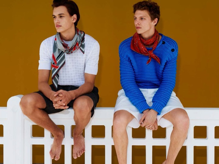 CAMPAIGN Jegor Venned & Tim Schuhmacher for Hermes Spring 2016 by Walter Pfeiffer. www.imageamplified.com, Image Amplified (14)