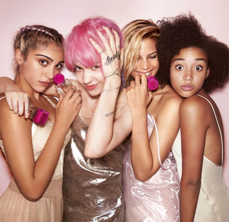 CAMPAIGN Lourdes Leon, Amandla Stenberg, Grimes, Kenya Kinski-Jones for POP by Stella McCartney 2016. www.imageamplified.com, Image Amplified (1)