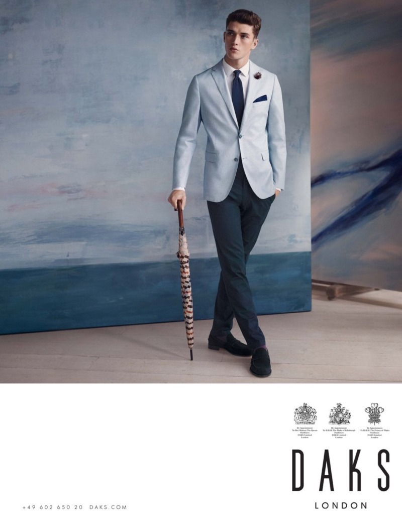CAMPAIGN Matthew Holt for DAKS London Spring 2016 by Adam Whitehead. Sam Logan, www.imageamplified.com, Image Amplified (4)