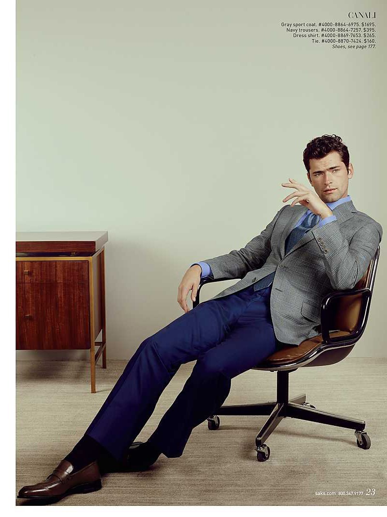 CATALOGUE Sean O'Pry for Saks Fifth Avenue March 2016 by David Slijper. Bill Mullen, www.imageamplified.com, Image Amplified (3)