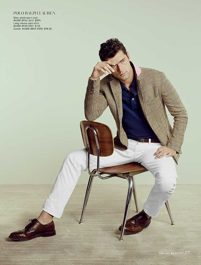 CATALOGUE Sean O'Pry for Saks Fifth Avenue March 2016 by David Slijper. Bill Mullen, www.imageamplified.com, Image Amplified (6)