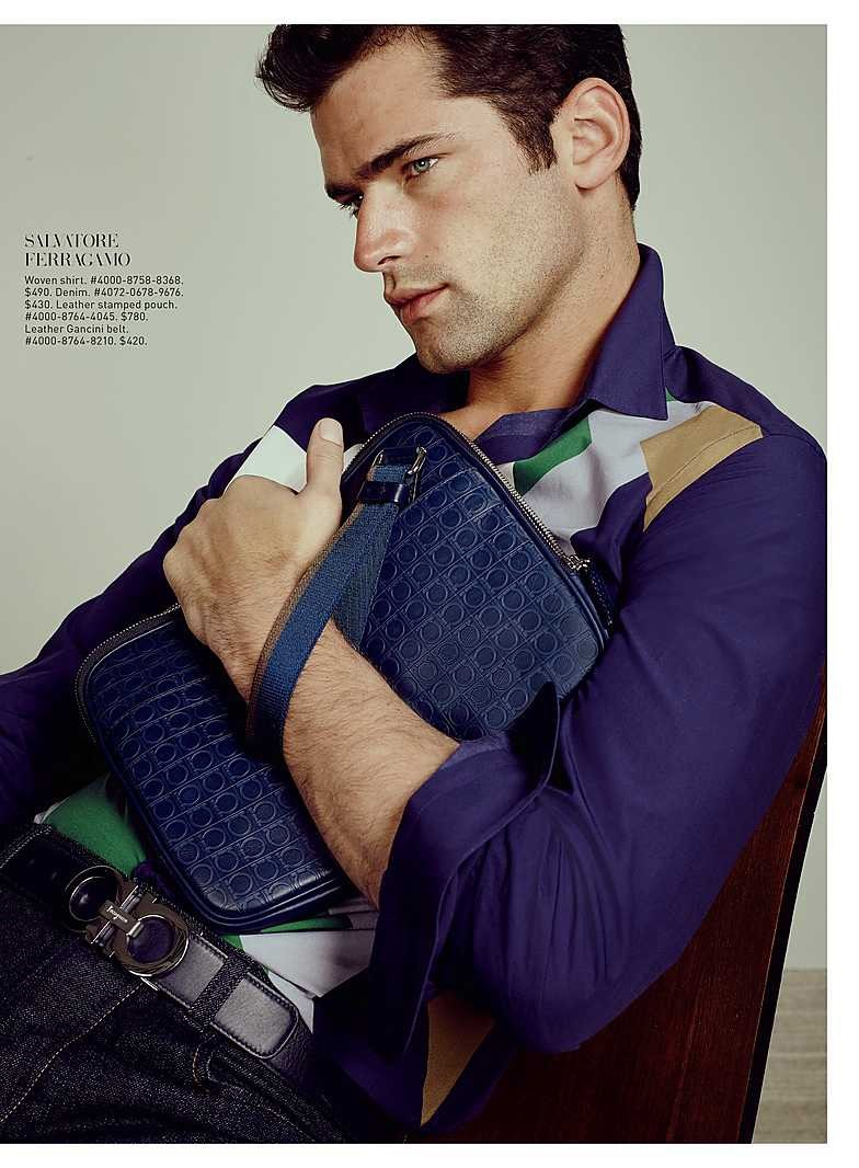 CATALOGUE Sean O'Pry for Saks Fifth Avenue March 2016 by David Slijper. Bill Mullen, www.imageamplified.com, Image Amplified (2)