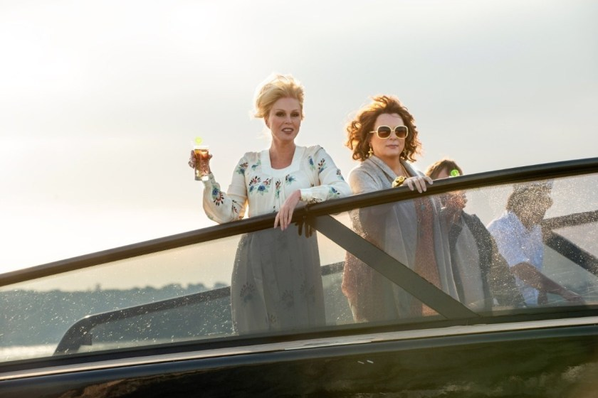 CINEMA SCAPE Absolutely Fabulous The Movie Starring Jennifer Saunders & Joanna Lumley, Directed by Mandie Fletcher, Out July 2, 2016. www.imageamplified.com, Image amplified (2)