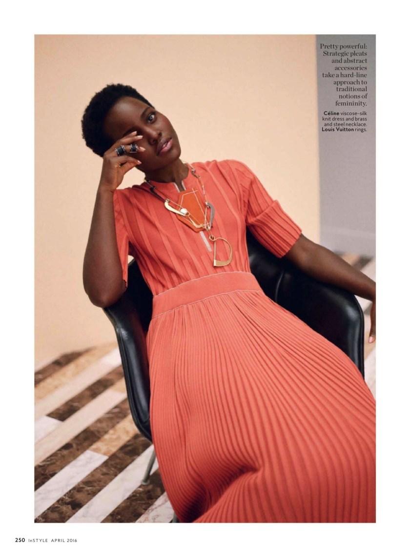 INSTYLE MAGAZINE Lupita Nyong'o by Thomas Whiteside. Melissa Rubini, April 2016, www.imageamplified.com, Image Amplified (8)