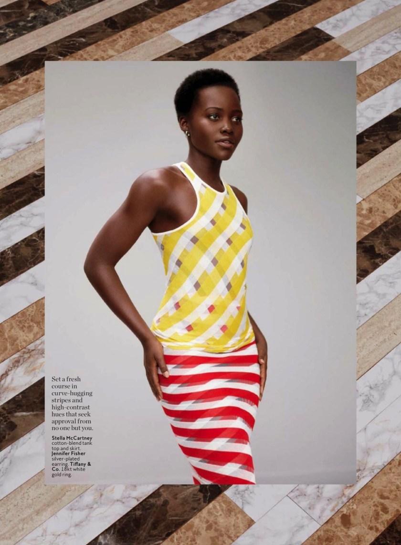 INSTYLE MAGAZINE Lupita Nyong'o by Thomas Whiteside. Melissa Rubini, April 2016, www.imageamplified.com, Image Amplified (1)