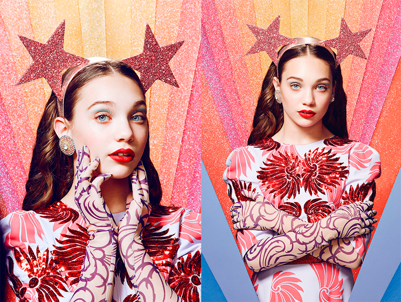 PAPER MAGAZINE Maddie Ziegler by Juco. Sean Knight, April 2016, www.imageamplified.com, Image Amplified (2)