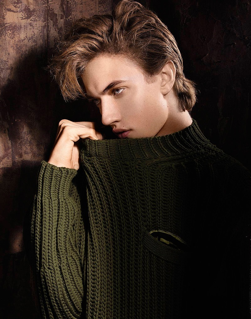 PRESTIGE MAGAZINE Lucky Blue Smith by Mike Ruiz. Cannon, Spring 2016, www.imageamplified.com, Image Amplified (2)